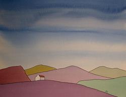 Art: Scottish Landscape Series No151 by Artist Martin Devine
