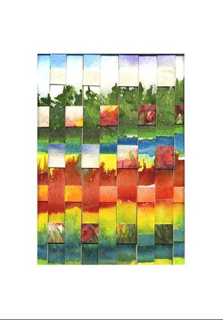 Art: Landscape Weaving by Artist Ulrike 'Ricky' Martin