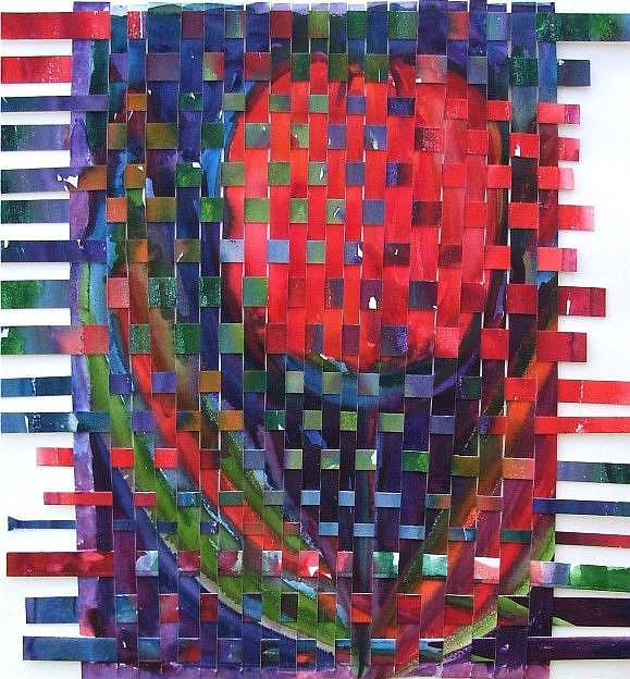 Art: Tulip Weaving by Artist Ulrike 'Ricky' Martin