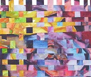 Detail Image for art Abstract Weaving ( available in my ebay store)