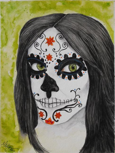 Art: Señorita by Artist Amanda Makepeace