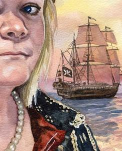 Detail Image for art Pirate Ann, Queen of the High Teas