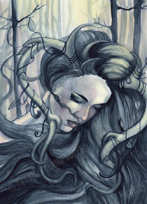 Art: Deerly Beloved 1 by Artist Tiffany Toland-Scott
