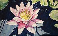 Art: Lotus by Artist Melanie Douthit