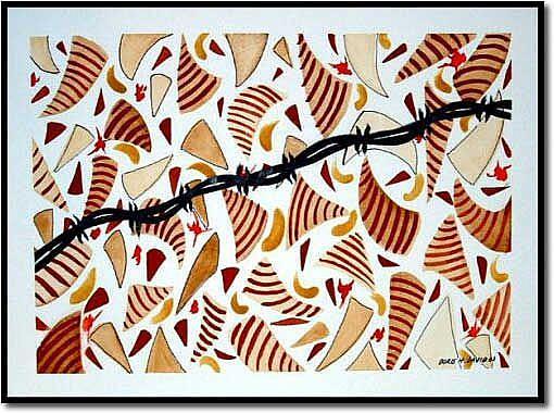 Art: April In Baghdad by Artist Doris H. David