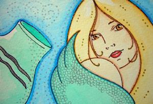 Detail Image for art Acuarius, A Mermaid