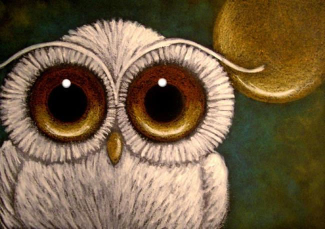 Baby Snowy Owl Drawing Snowy Baby Owl 2 by Artist