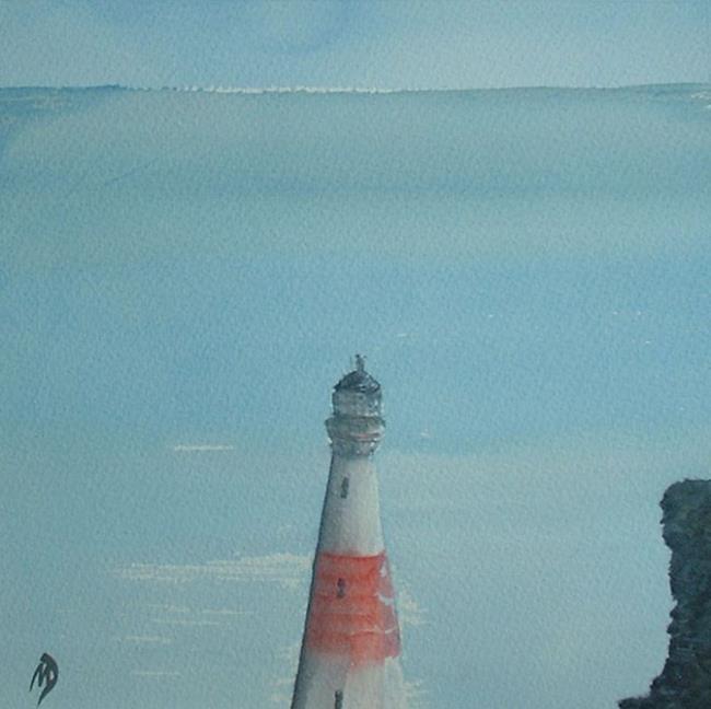 Art: Buchan Ness Lighthouse by Artist Martin Devine