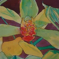 Art: Orchids by Artist Martin Devine