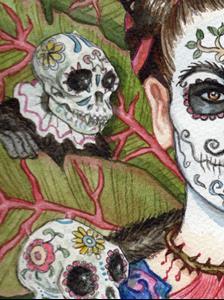 Detail Image for art Frida De Los Muertos