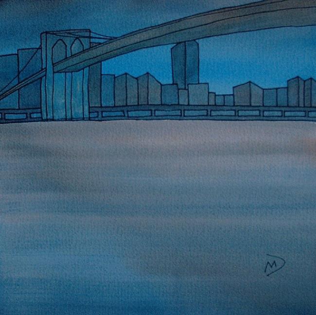 Art: American Cityscape Series No26 by Artist Martin Devine