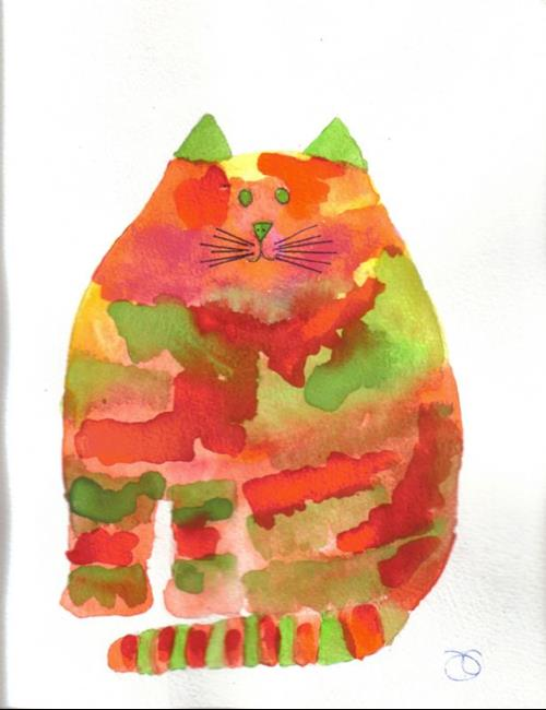 Art: CAT!! by Artist Dawn Barker