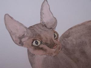 Detail Image for art SPHYNX CAT C999