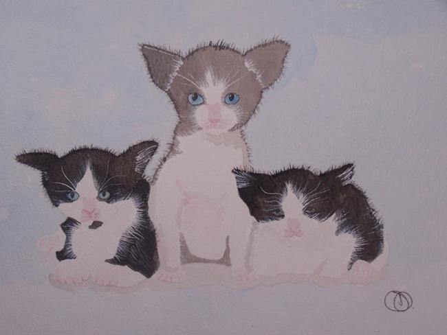 Art: KITTENS by Artist Dawn Barker