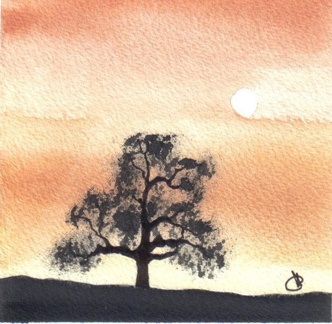 Art: OAK TREE by Artist Dawn Barker