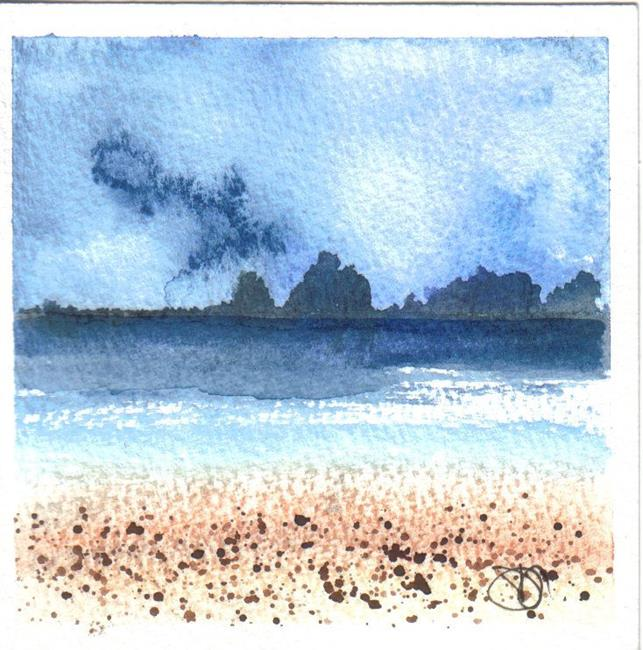 Art: SEASCAPE by Artist Dawn Barker