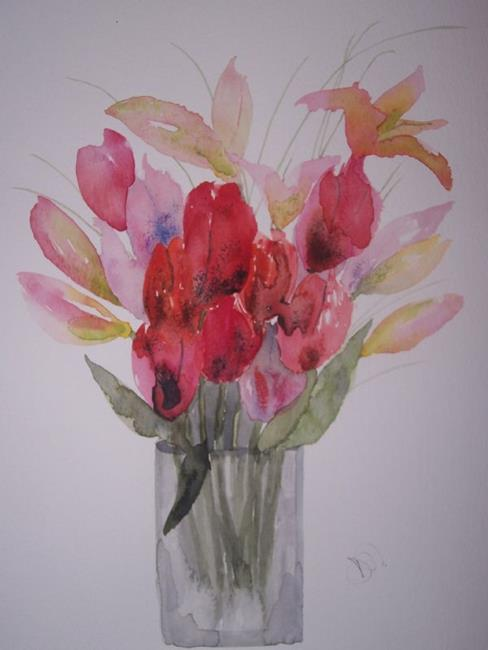 Art: FLOWERS by Artist Dawn Barker