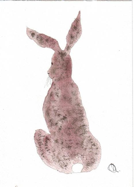 Art: HARE h402 by Artist Dawn Barker