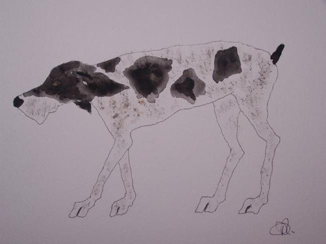 Art: DOGGY by Artist Dawn Barker