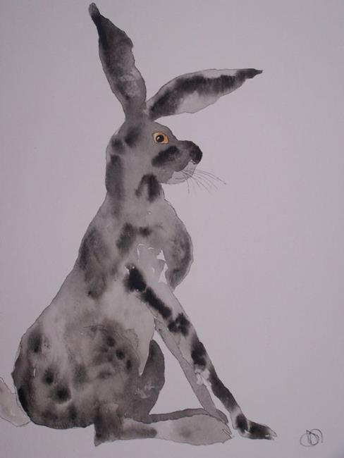 Art: HARE 415 by Artist Dawn Barker