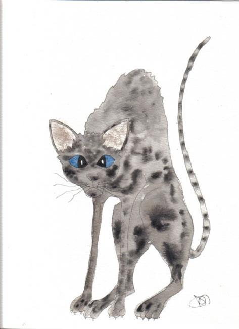 Art: CAT!! by Artist Dawn Barker