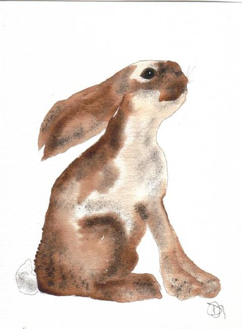 Art: HARE leveret h427 by Artist Dawn Barker