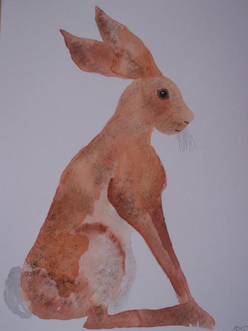 Art: HARE h429 by Artist Dawn Barker
