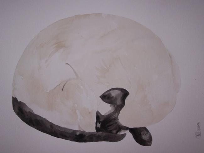 Art: SLEEPING BEAUTY 2 by Artist Dawn Barker