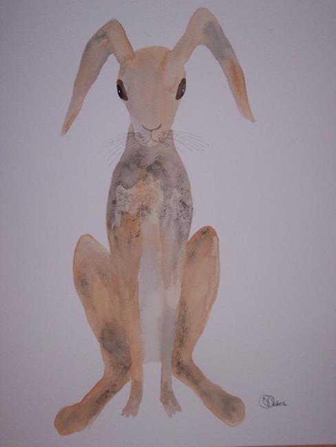 Art: HARE h433 by Artist Dawn Barker