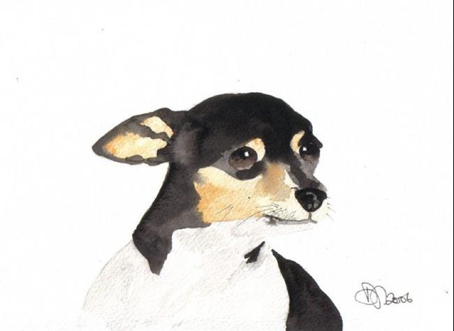 Art: CHIHUAHUA by Artist Dawn Barker