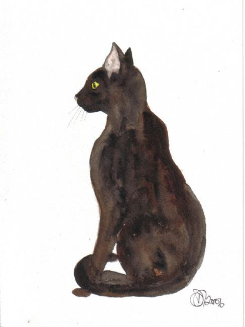 Art: CAT by Artist Dawn Barker