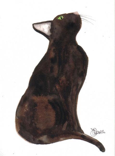 Art: CAT by Artist Dawn Barker