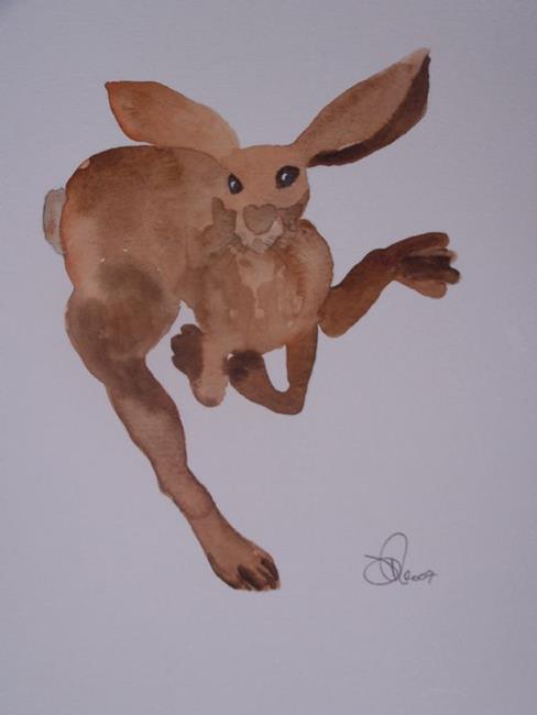 Art: HARE h485 by Artist Dawn Barker