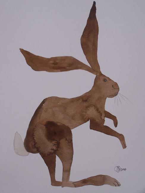 Art: HARE h512 by Artist Dawn Barker