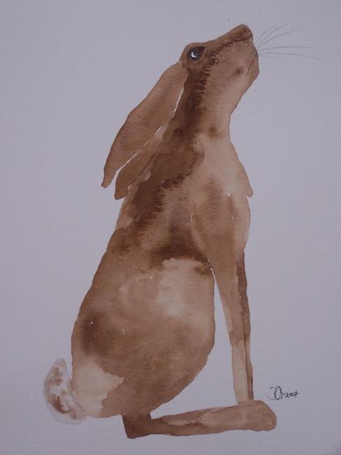 Art: HARE h513 by Artist Dawn Barker