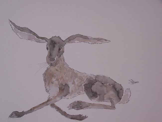 Art: HARE h514 by Artist Dawn Barker