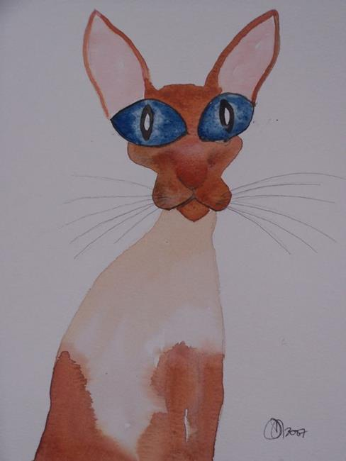 Art: SIAMESE s110 by Artist Dawn Barker