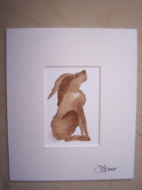 Art: HARE h520 by Artist Dawn Barker