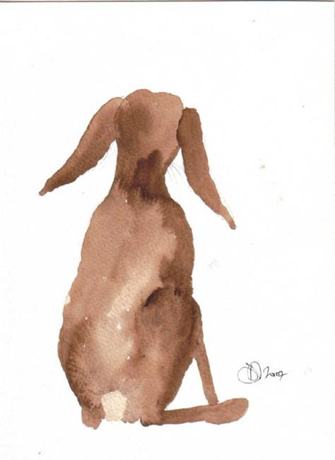 Art: HARE h522 by Artist Dawn Barker