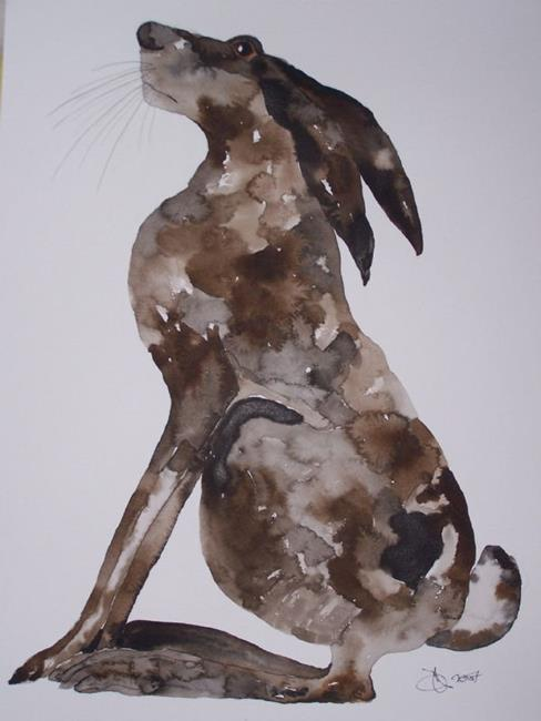 Art: HARE h536 by Artist Dawn Barker