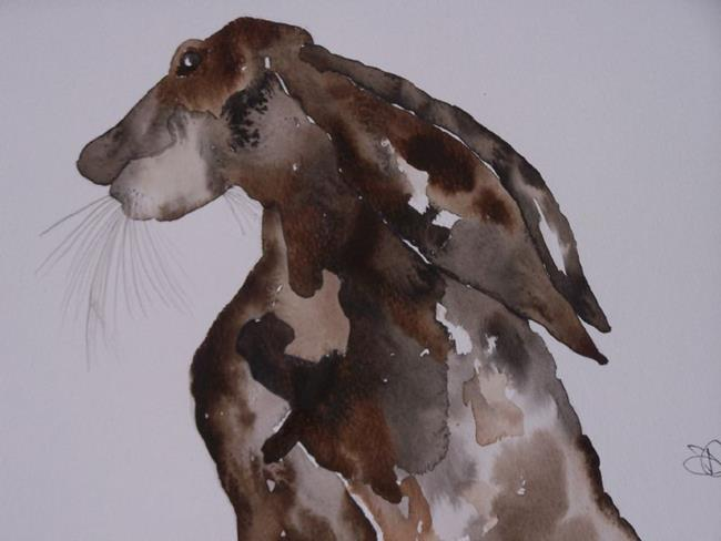 Art: HARE h537 by Artist Dawn Barker