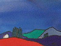 Art: ACEO Perthshire Series No1 by Artist Martin Devine