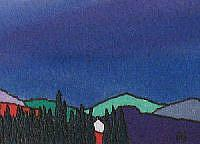 Art: ACEO Perthshire Series No3 by Artist Martin Devine