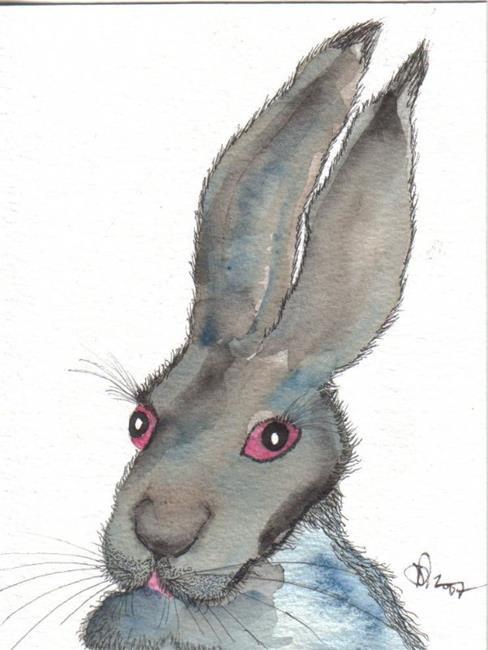 Art: HARE h535 by Artist Dawn Barker