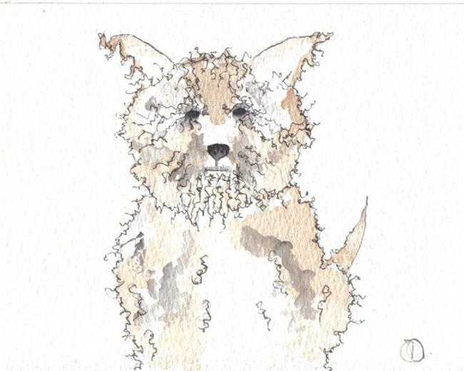 Art: DOG by Artist Dawn Barker