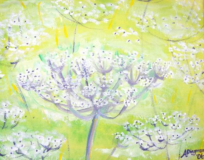 Art: Queen Anne's Lace by Artist Aimee L. Dingman