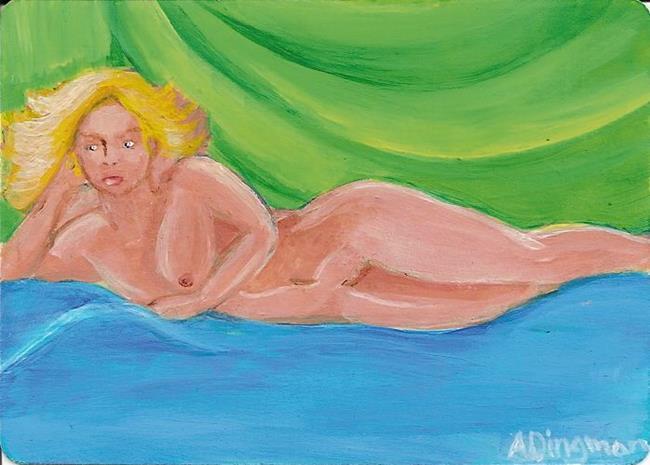 Art: Nude I - Sold by Artist Aimee L. Dingman