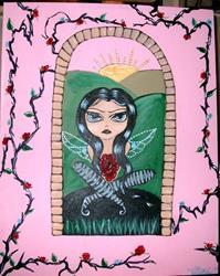 Art: Rosemary by Artist Vyckie Van Goth