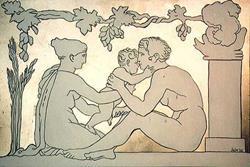 Art: Family by Artist Paul Helm