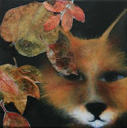 Art: Fox In The Forest by Artist Deb Harvey